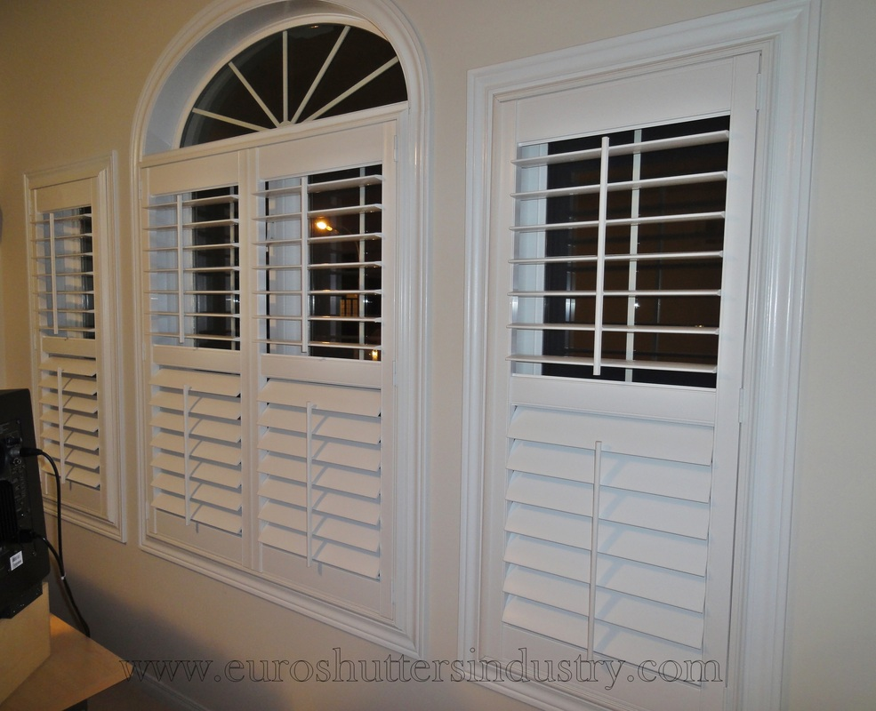 Patio Doors Shutters   California Shutters  Hamilton Burlington Kitchener Guelph Stoney Creek Niagara